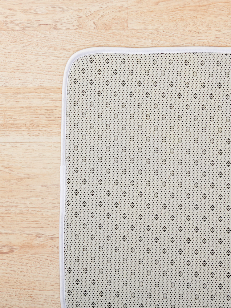 Alternate view of Pizza Pattern Bath Mat